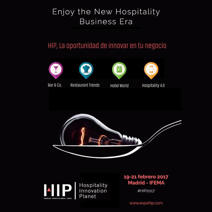 HIP es un evento indispensable para las empresas y profesionales de la hostelería.