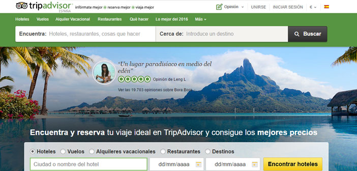 TripAdvisor des restaurants Commentaires en 99% pays du monde. La qualité de service, le repas, installations, Son personnel, etc…