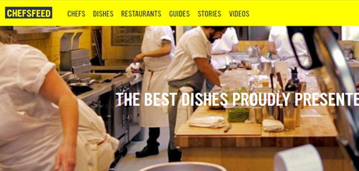 Cette application intègre les recommandations faites sur plus 50 villes par des chefs et des cuisiniers de renom.