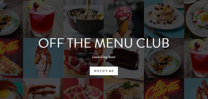 Pour exigeant et désireux d'innover et de l'application de foodies surprise, il existe sur le menu