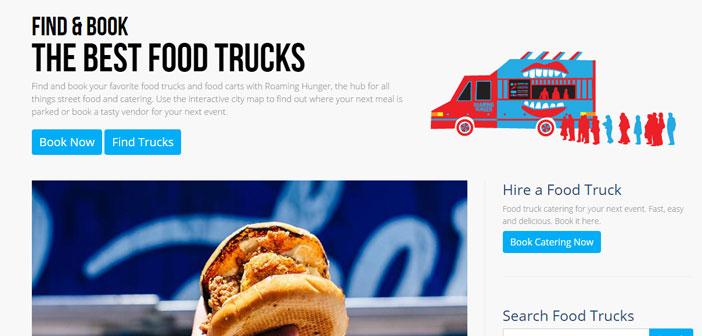 Cette application est centrée aux États-Unis et au Canada et ce qui n'est vous mènera aux gastronetas populaires ou des camions de nourriture à proximité.