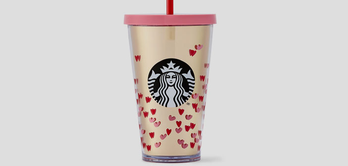 Taking advantage of the pull that has the party Cupido, Starbucks has launched a special collection with various cups and merchandising objects, all in pink, Red, the timely and full details ... Why not create a different memory for your customers?