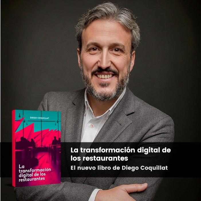 Coquillat Diego et son nouveau livre « La transformation numérique des restaurants »