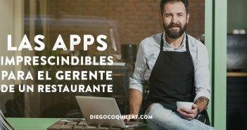 Las 15 apps imprescindibles para el gerente de un restaurante
