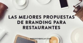 Las mejores propuestas de branding para restaurantes