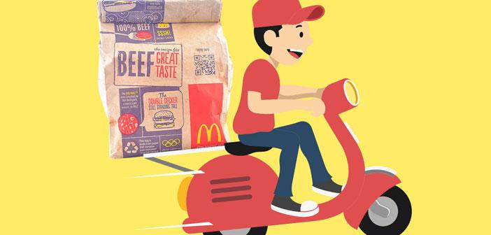 """Las entregas a domicilio van a ser uno de los grandes bastiones en el crecimiento mundial de McDonald's según afirman sus directivos: """"estamos en una posición única para convertirnos en el gran líder mundial de la distribución""""."""