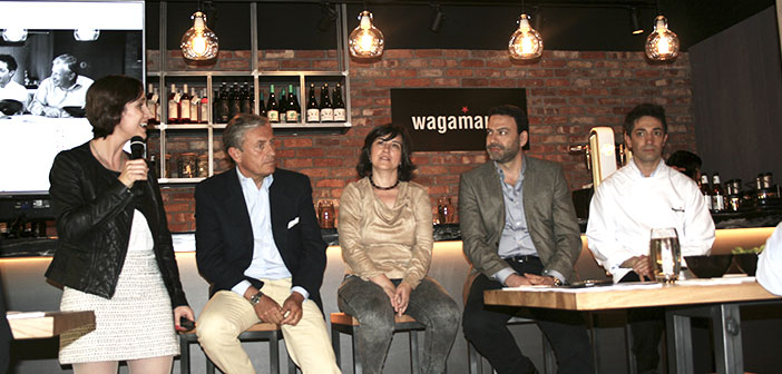 "Jaro Redondo, executive chef at Wagamama in our country, ensures that it is necessary cooking equipment is fun preparing each dish. ""We do not do the Pad Thai from a Thai grandmother, gamberra and we make fun version of Wagamama ""Redondo said during the presentation of the local."