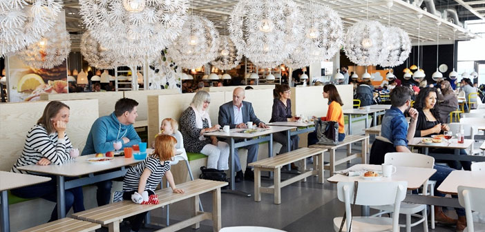 IKEA restaurants, your furniture to your meatballs