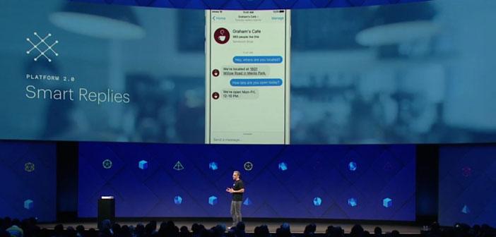 & Quot; intelligent Réponses & quot;, un outil conçu pour éliminer le temps passé à répondre aux préoccupations des utilisateurs sur les questions relatives aux réservations ou temps de menu, parce que la réponse automatique.