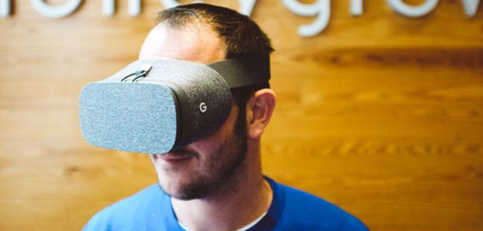 Le premier processus de recrutement dans un restaurant par des lunettes de réalité virtuelle.