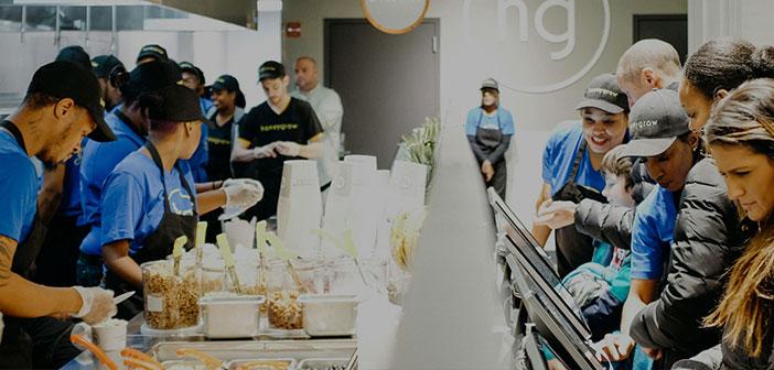 Honeygrow est une chaîne de fast-food, mais la maison ont commencé à utiliser la réalité virtuelle pour recruter de nouveaux employés. Cette société a plusieurs endroits à la fois dans la ville de Philadelphie et d'autres États de l'Ouest des États-Unis comme la Pennsylvanie, Nouveau pull, New York et du Delaware.