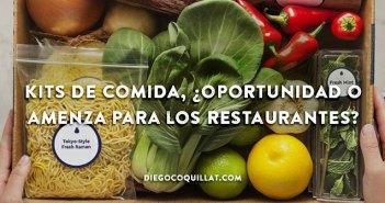 Kits de comida, ¿oportunidad o amenza para los restaurantes?