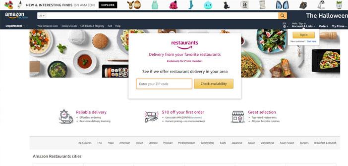 Comme Olo offre des commandes numériques 200 marques de restaurant et 40.000 établissements au total, Restaurants intégration avec Amazon entraînera un nouveau produit appelé Olo Rails, dans lequel la société gère l'ordre entrant dans le système directement au TPV, où vous pouvez également modifier les menus.