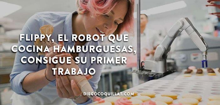 Flippy, el robot que cocina hamburguesas, consigue su primer trabajo en un restaurante