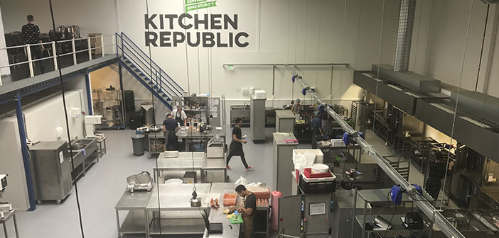 Kitcken Republic: Incubator for food companies that aims to help other companies in the sector by putting a central kitchen and storage, offering culinary advice turn.