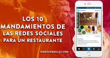 Los 10 mandamientos de las redes sociales para un restaurante