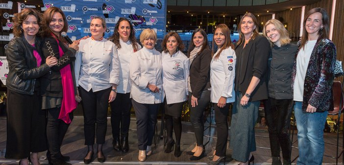 """Gastronomy is feminine"", a new event that, on the occasion of International Women's Day, They were proposed to recognize the work of all those women who extol the Spanish gastronomy. During the same counted with the presence of the Deputy Prime Minister, Soraya Saenz de Santamaria, which he highlighted the work and dedication of all those cooks who combine personal and professional life."