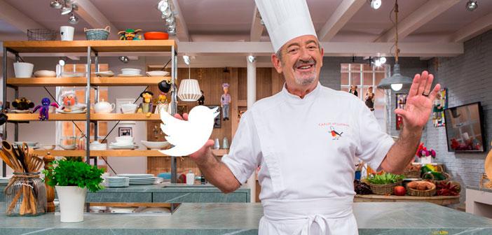 La colección de recetas de Karlos Arguiñano que enamora en twitter