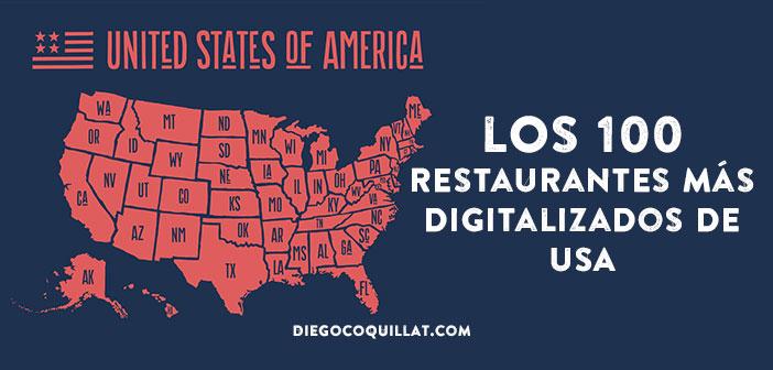 Ranking con los 100 restaurantes más digitalizados de Estados Unidos