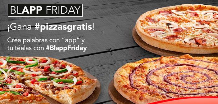 Telepizza arrasa en las redes sociales con su promoción #BlappFriday
