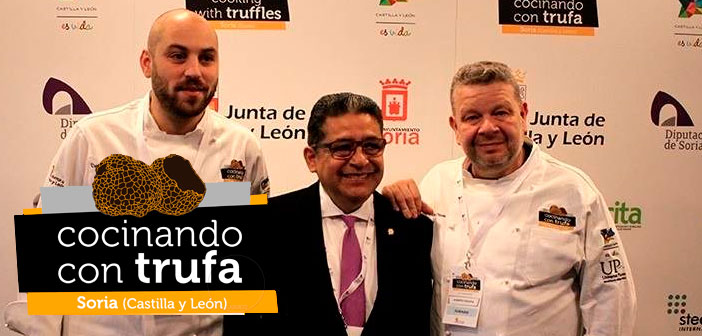 24 países participan en el I Concurso Cocinando con Trufa en Soria