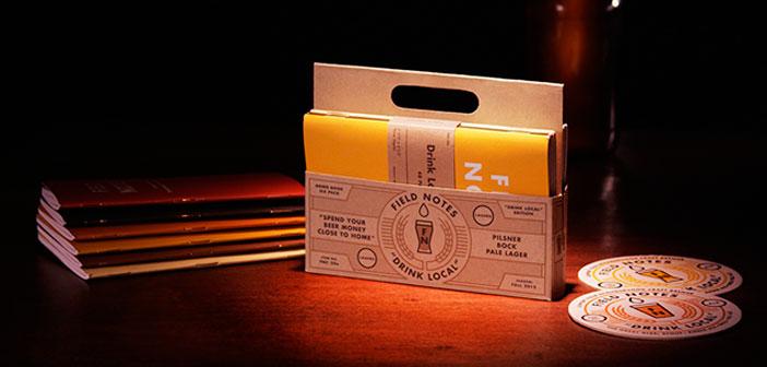 Si vous connaissez quelqu'un qui est un amoureux de la bière, alors ce cadeau semblera canne. Remarque sur le terrain est un pack d'ordinateurs portables 48 pages blanches pour cibler toutes les saveurs et les nuances des bières que vous essayez.