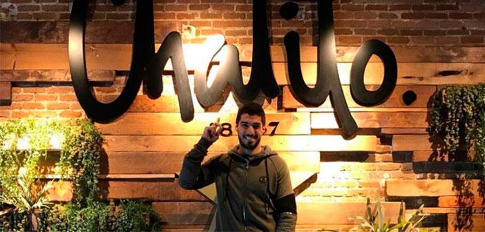 El delantero del Barça Luis Suarez abre un nuevo restaurante en el centro de Barcelona