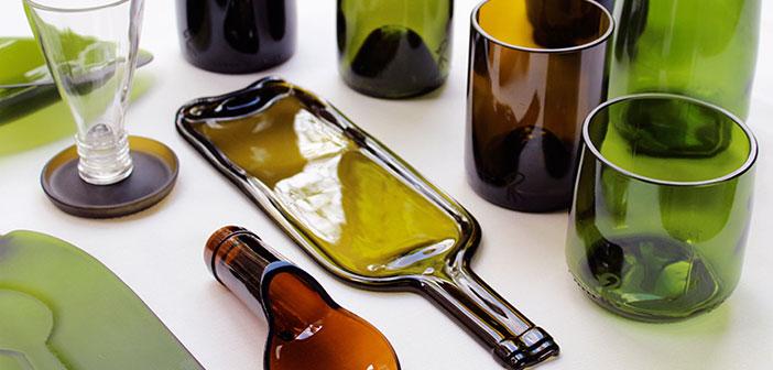 Rocarecicla La Segunda Vida De Las Botellas De Vidrio En Forma De
