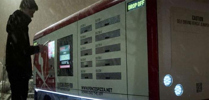 Le véhicule coulé fictif qui est apparu dans l'épisode de la quatrième saison Crocodile Black Mirror émis par Netflix