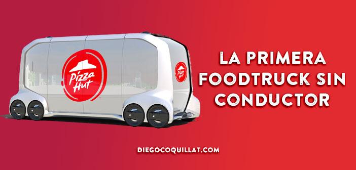 Toyota y Pizza Hut ponen en circulación la primera foodtruck sin conductor