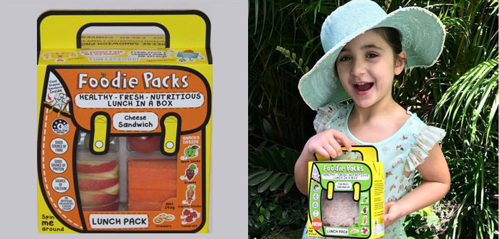 Alizah Maryanka creó Foodie Packs, Box lunch prepackaged saves a lot of valuable time for all those parents who every morning are involved in a similar situation.