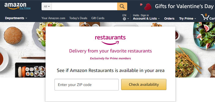 """He thinks that behind all this is the possibility of """"packetize"""" leisure services and make it a flagship product e-commerce, How long can you take Amazon to sell restaurant reservations with this model?"""