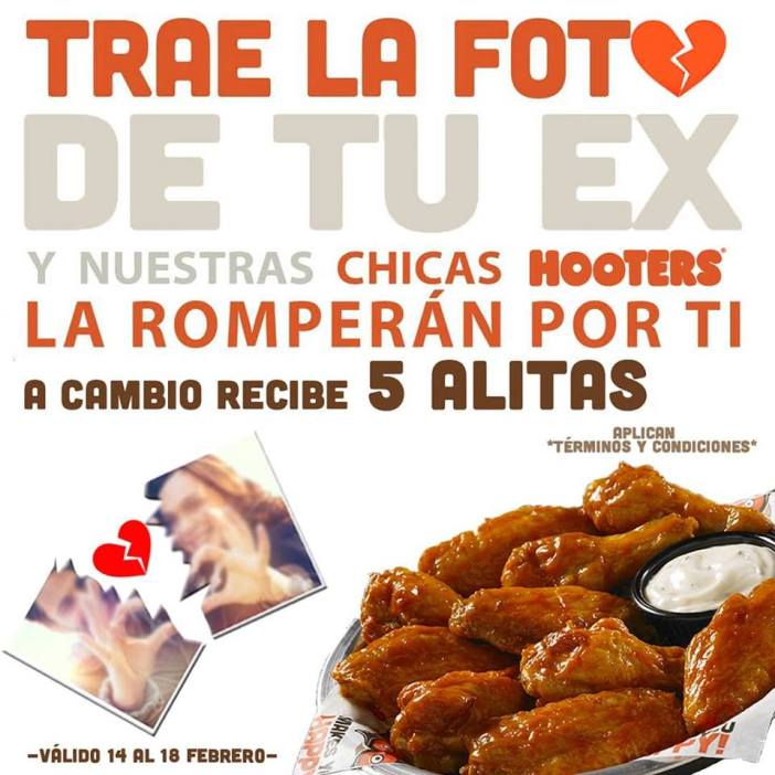 Hooters promotion Lovers
