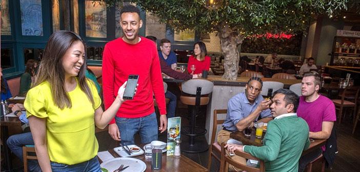 Selon une étude réalisée par Barclayard au Royaume-Uni, près d'un 40% les clients souhaitent éviter le compte du temps d'attente et les deux tiers des propriétaires des restaurants considéré comme une percée mettre en œuvre un mode de paiement « invisible » à la satisfaction des deux parties.