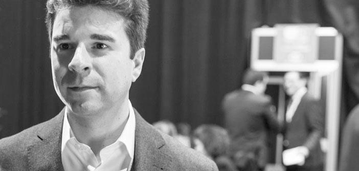Jeffrey Amoscato, Vice-président de la chaîne d'approvisionnement & Menu des hamburgers de la chaîne d'innovation Shake Shack, Il était à Madrid dans le cadre # ExpoHip18
