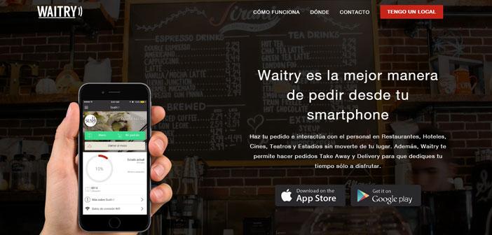 Waitry es una plataforma completa de gestión de servicio diseñada para derribar las barreras del idioma, así como los espacios entre el restaurante y el cliente.