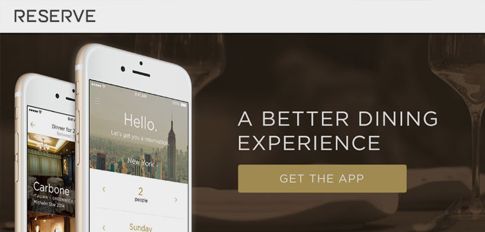 Reserve, OpenTable direct competitor and its biggest rival in providing reservation services for restaurants