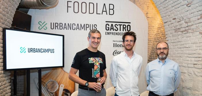 Seth Goldman (fundador de Honest®), Maxime Armand (COO de Urban Campus) y José Luis Cabañero (CEO y fundador de Eatable Adventures).