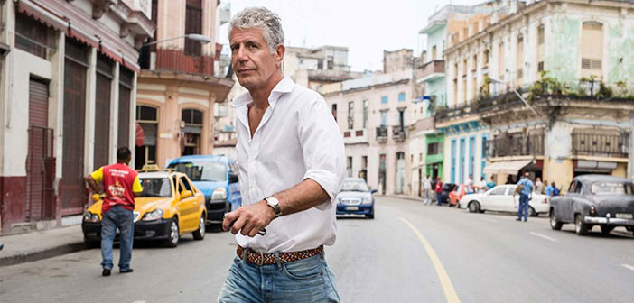 Il a voyagé pendant plus de neuf mois par an pour enregistrer son émission de télévision et Globetrotter culinaire vital. Son travail l'a amené à distance et parfois dangereuse que la Libye, Liban et à Gaza.
