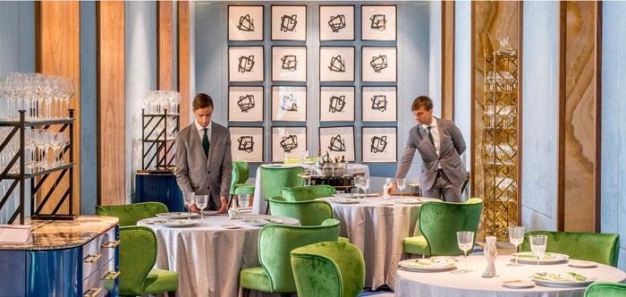 Le restaurant à Madrid Coque appartenant aux frères Sandoval