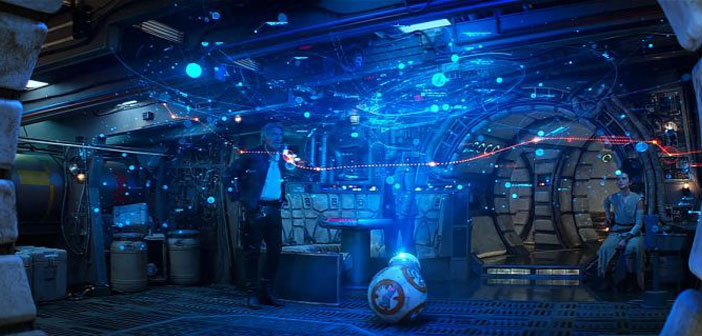 10 Examples of Augmented Reality and holograms in the series of Star Wars