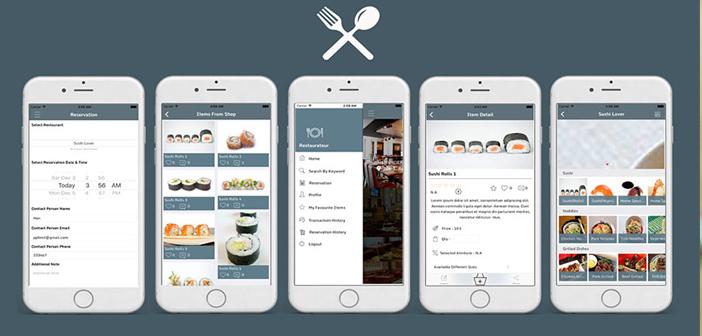 Plantillas de apps para restaurantes