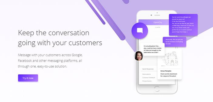 """Le directeur exécutif du OpenCity de signature numérique, Nick Belsito, Il est très clair: « Personne ne veut parler par téléphone. la 99 pour cent des clients veulent envoyer un message texte. Si vous êtes dans un bureau, vous voudrez peut-être pas vous entendre faufilé. Si vous êtes dans le métro, Vous ne pouvez pas avoir une conversation. Qu'est-ce que vous voulez vraiment est d'envoyer un message texte """", il conclut sans ambages."""