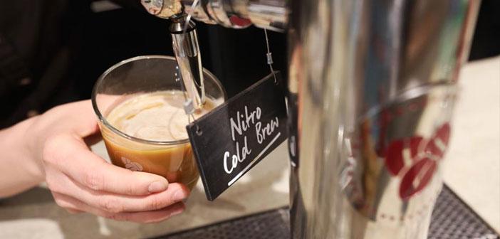El café Cold Brew comienza a aparecer en las cartas de muchos bares y restaurantes.