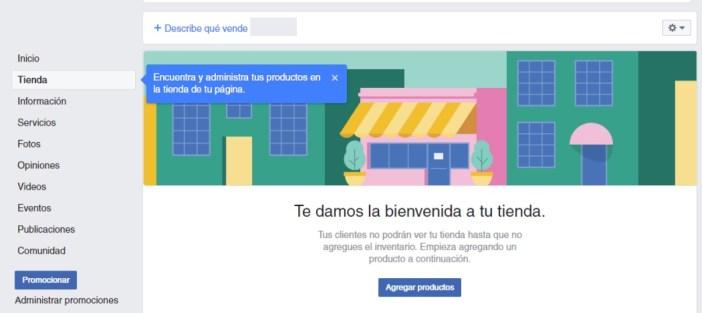 Maintenant, vous pouvez ajouter les produits au magasin facebook