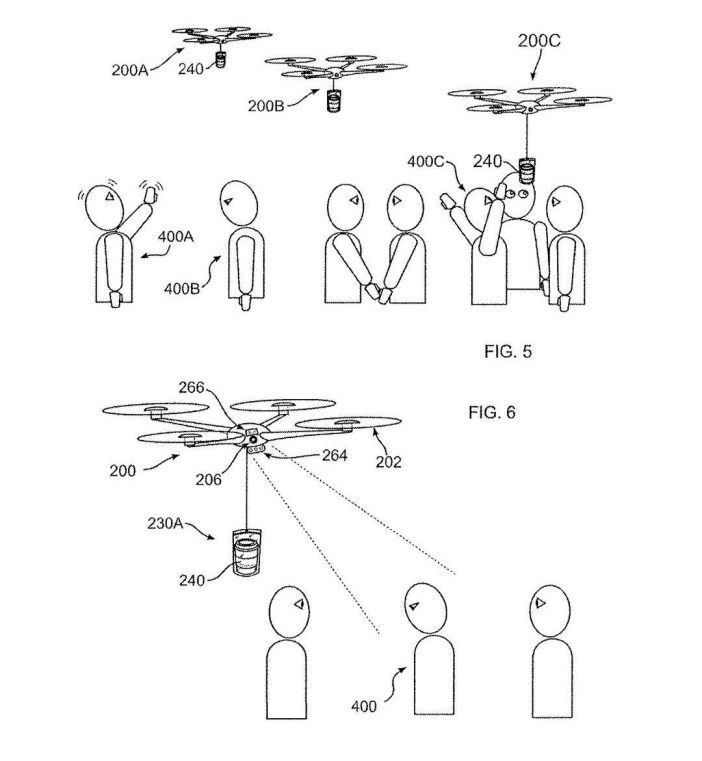For it, the unmanned aerial vehicle (WON) It will be equipped with sensors that allow you to recognize good gesture, While a cognitive state (for example, drowsiness), that could lead to a sale. For practical purposes, We are talking about a coffee vending machine capable of flight and identification of potential customers.
