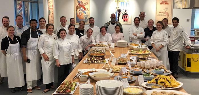 Le Culinary Institute of America et l'Institut de l'éducation culinaire, offrent des cours et de la nourriture professionnelle de style de la photographie. Les entreprises américaines ne sont pas étrangères à l'importance de cette évolution et donc des lieux ont été vendus en deux heures.