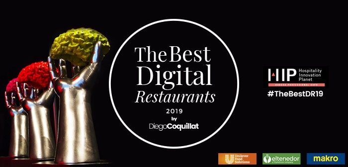 Awards that recognize the digital management of chefs, # TheBestDR19 restaurants and franchises will be awarded for the second consecutive year next 20 February in ExpoHip2019 # HIP2019