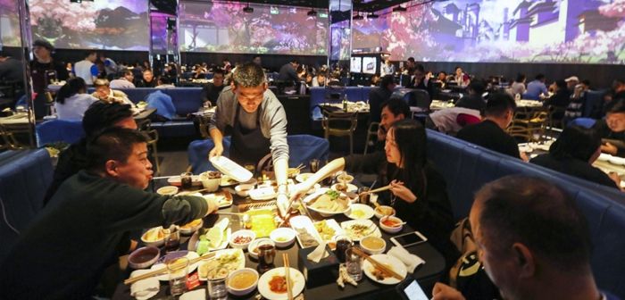 """""""It would be difficult to expand to that level [5000 restaurants] with regard to staff, A) Yes, Haidilao is making an early transition to an operation model that is not based on manual work both. That's where technology comes in Panasonic '."""