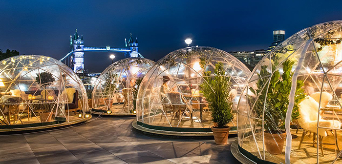 Los Iglús For Restaurants Make Profitable Terraces In